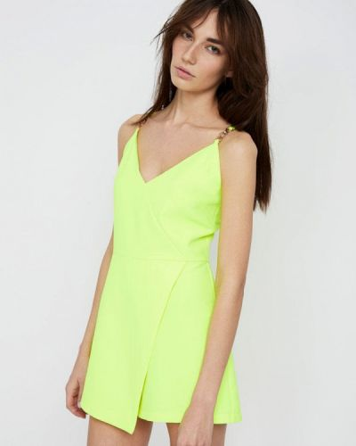 Комбинезон с шортами желтый салатовый Lime