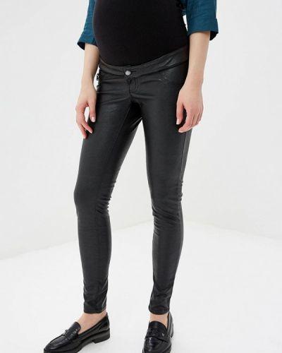 Черные брюки повседневные Mama.licious