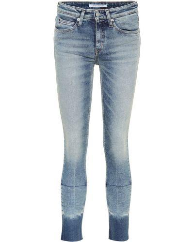 Укороченные джинсы скинни классические Calvin Klein Jeans