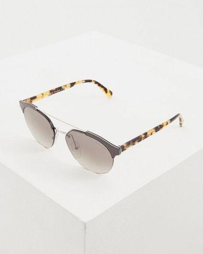 Солнцезащитные очки круглые 2019 Prada