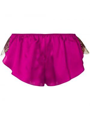 Нейлоновые розовые трусы с жемчугом Gilda & Pearl