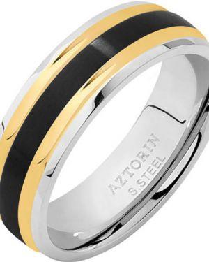 Кольцо серебряный с декоративной отделкой Aztorin