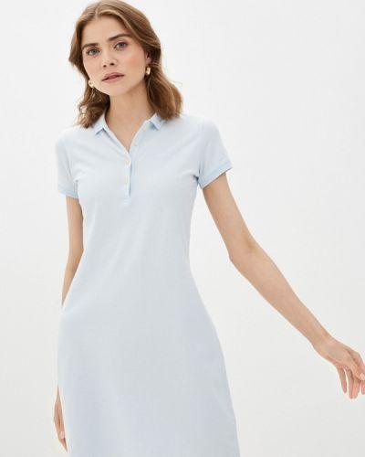 Платье - голубое Galvanni