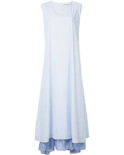 Платье в полоску расклешенное N Duo