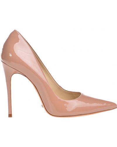 Бежевые туфли на каблуке Schutz