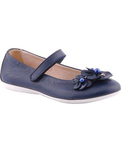 Туфли синие Andrea Morelli