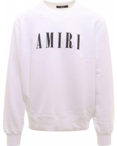 Biała bluza dresowa Amiri