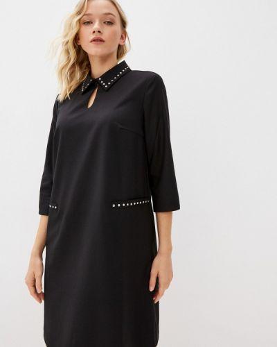 Черное демисезонное платье Savage