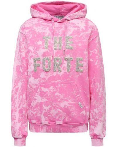 Худи оверсайз - розовое Forte Dei Marmi Couture