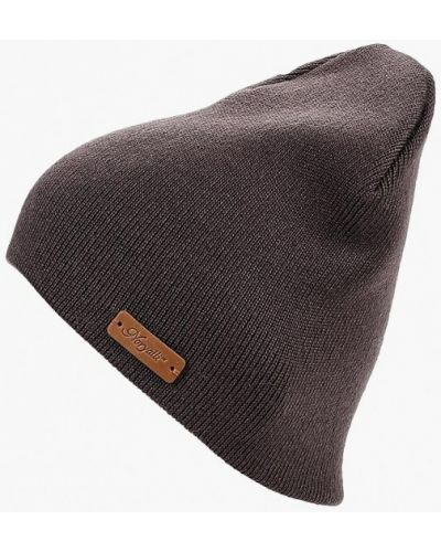 Коричневая шапка осенняя Noryalli