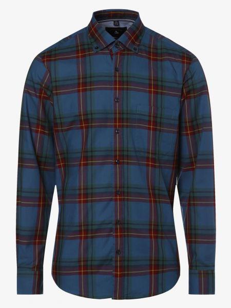 Niebieska koszula bawełniana Andrew James Sailing