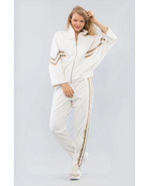 Костюмный белый спортивный костюм Maxa