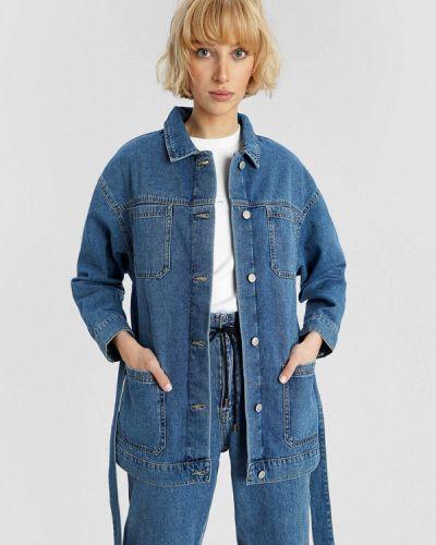 Джинсовая куртка - синяя O'stin