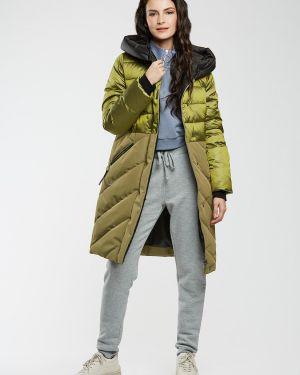 Зимнее пальто стеганое спортивное D`imma Fashion Studio