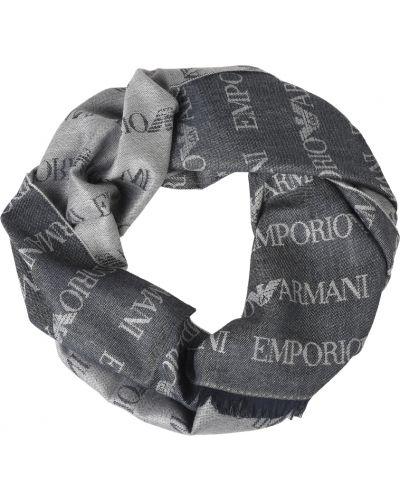 Шарф шерстяной Emporio Armani