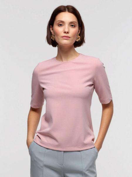 Блузка с коротким рукавом розовая весенний Lova