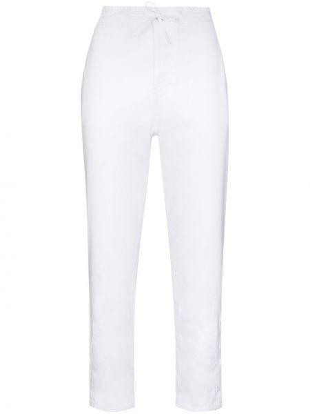 Białe spodnie bawełniane Rta