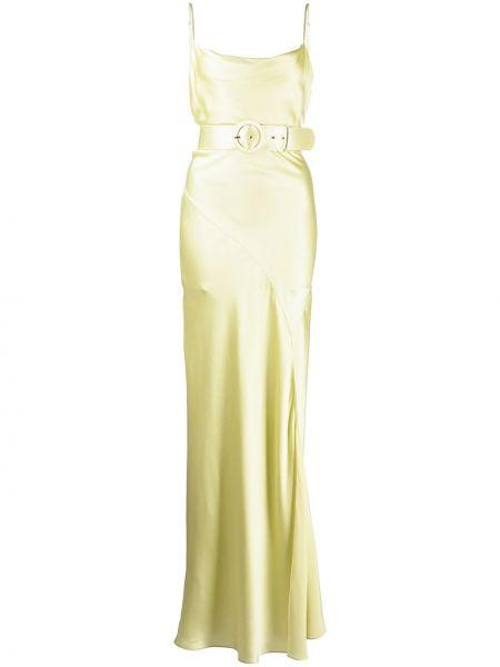 Шелковое вечернее платье Nicholas