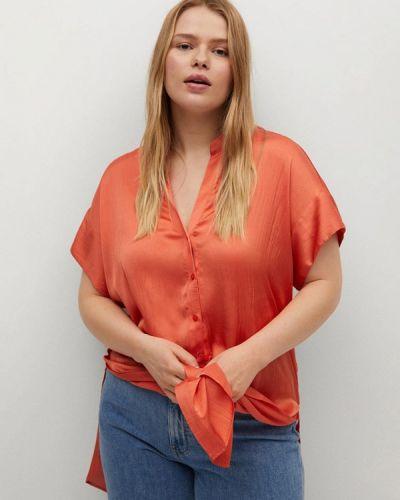 Красная блузка Violeta By Mango