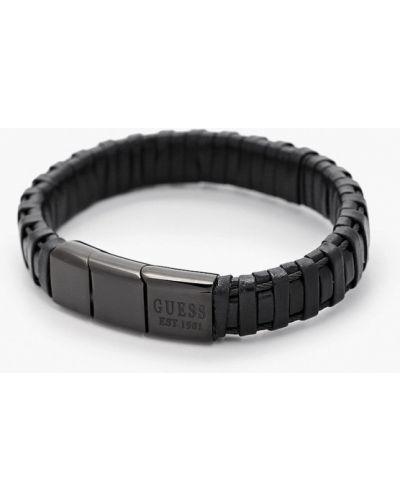 Черный браслет Guess