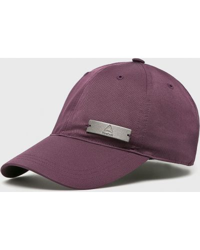 Фиолетовая шапка Reebok
