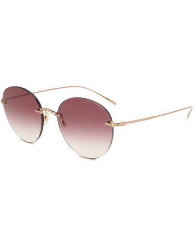 Солнцезащитные очки металлические Oliver Peoples