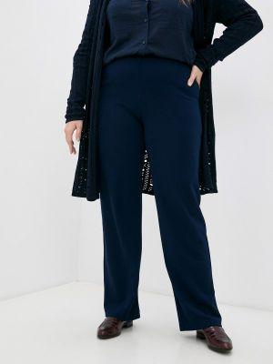Прямые брюки - синие Lina
