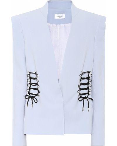 Малиновый пиджак Mugler