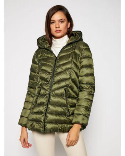 Zielona kurtka puchowa Iblues