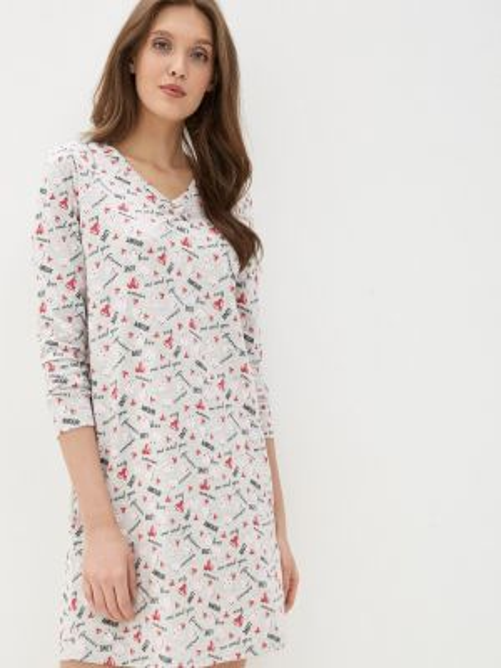 Платье серое весеннее Nymos