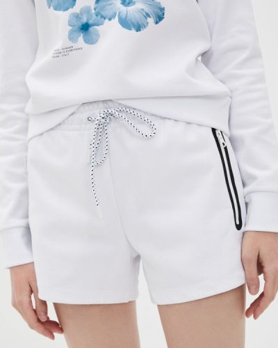 Повседневные белые спортивные шорты Bikkembergs