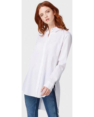 Рубашка с длинным рукавом белая индийский Tom Tailor Denim
