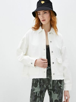 Джинсовая куртка - белая Befree
