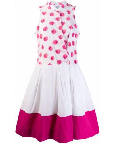 Приталенное платье миди с запахом на пуговицах Sara Roka