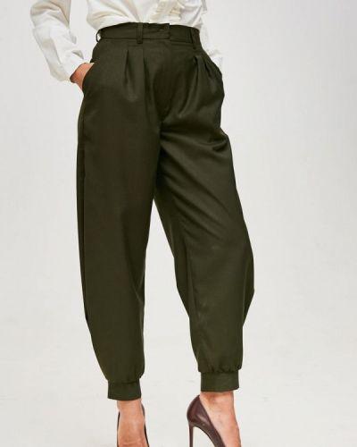Зауженные зеленые брюки Yulia'sway