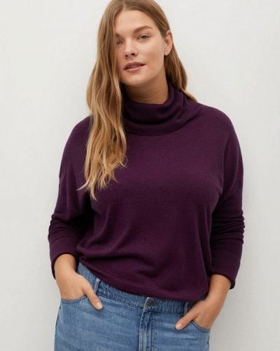 Фиолетовый кардиган Violeta By Mango