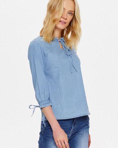 Синяя блузка Top Secret