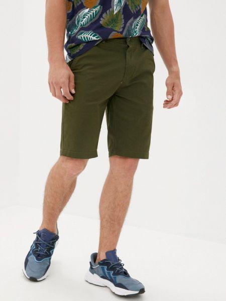Зеленые повседневные шорты Qwentiny