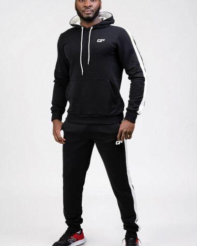 Спортивный костюм для фитнеса - черный Go Fitness