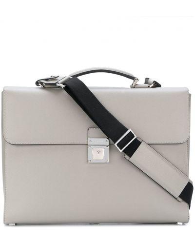 Серый чемодан Serapian