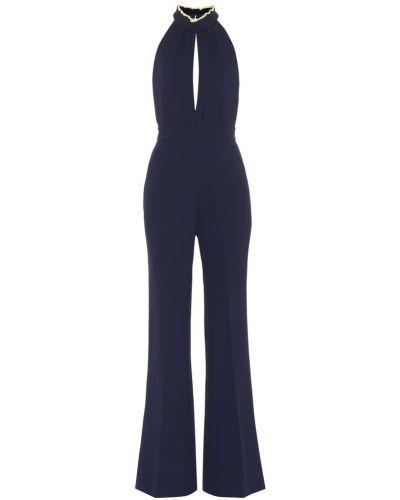 Niebieski spodni kombinezon Roksanda