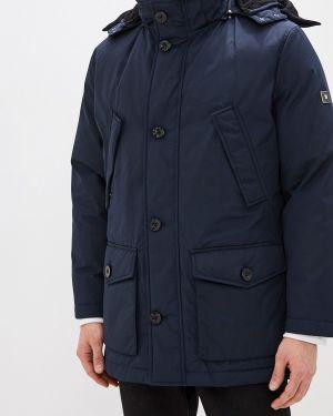 Зимняя куртка осенняя синяя Pierre Cardin