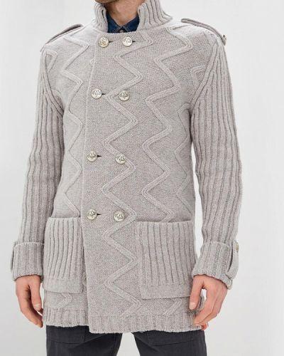 Пальто серое Elijah & Sims