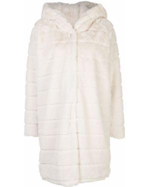 Белая куртка из искусственного меха Apparis