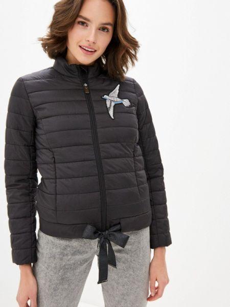 Утепленная куртка - черная Odri Mio
