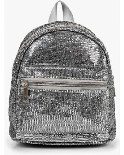 Рюкзак из серебра серебряный Modis