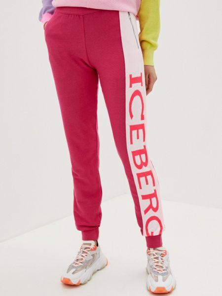 Спортивные брюки розовый весенний Iceberg