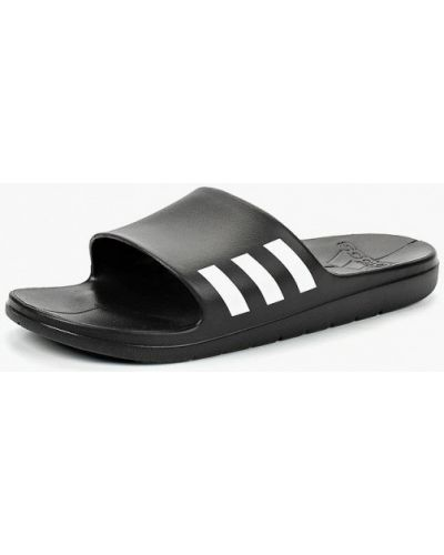Черные сланцы Adidas