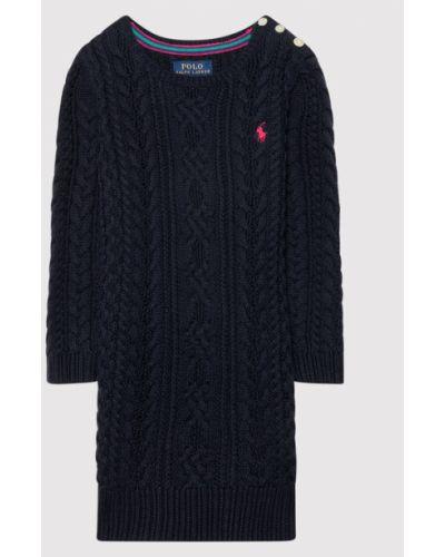 Sukienka casual - granatowa Polo Ralph Lauren