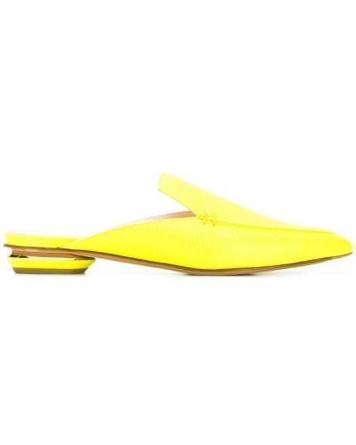 Мюли желтый Nicholas Kirkwood